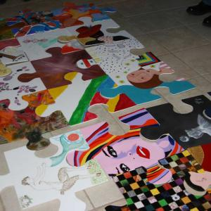Puzzle collectif